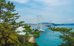 Onaruto-Brücke, Japan lizenzfreie stockfotografie