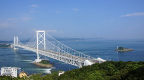 Onaruto bridge in Japan Royalty Free Stock Photography