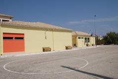 Onassis school, Lefkada Stock Photo