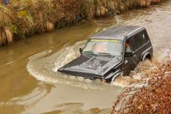 Onbekend bestuurder/team die aan TT de Reis van de Jeep deelnemen Royalty-vrije Stock Afbeelding