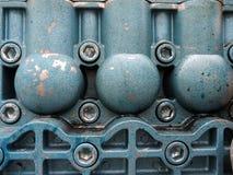 Onbekend deel van het industriële ontwerp Royalty-vrije Stock Foto's