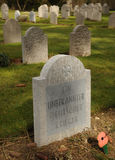 Onbekende militair, WW1 Duitse Militaire begraafplaats, België Royalty-vrije Stock Foto