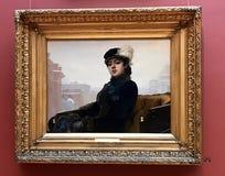 Onbekende vrouw royalty-vrije stock fotografie