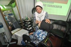 Onbekwaamheid Expo in Indonesië Royalty-vrije Stock Foto's