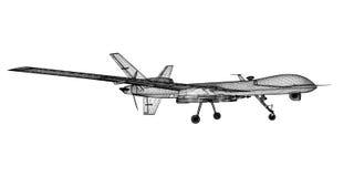 Onbemand Luchtvoertuig (UAV) Stock Afbeeldingen