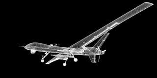 Onbemand Luchtvoertuig (UAV) Royalty-vrije Stock Afbeelding