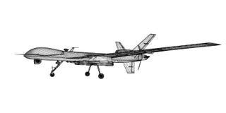 Onbemand Luchtvoertuig (UAV) Stock Foto's