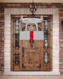 Onbemande UAV Quadcopter van het Vliegtuigensysteem Hommel die Gift leveren royalty-vrije stock foto