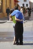 Onbeperkte liefde Stock Foto's