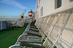 Onboard cruise of the liner. Royalty Free Stock Photography