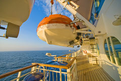 Onboard cruise ship Royalty Free Stock Photography