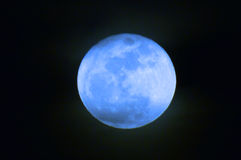 Once in a Blue Moon Royalty Free Stock Photography