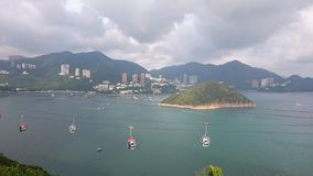 Once upon a gloomy day. It was a gloomy day that I've taken this photo in hongkong Stock Photo