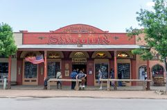Wild West Saloon, Tombstone Arizona royalty free stock photography