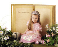 Once Upon a Princess Stock Photo