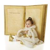 Once Upon a Snow Princess Stock Photography