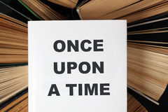 Once Upon A Time book Stock Photo