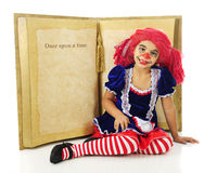 Once Upon a Time Living Rag Doll Royalty Free Stock Photos