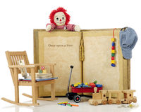 Once Upon a Time Toys Royalty Free Stock Photo