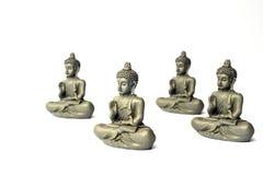 Oncentration do ¡ de Ð da mente Conceito da ioga Pose de Lotus Fundo da meditação do zen Relaxe o conceito mínimo imagem de stock