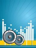 Oncept da vida musical Imagem de Stock