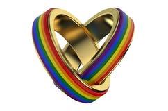 oncept do  dos matrimônios homossexuais Ñ Imagem de Stock Royalty Free