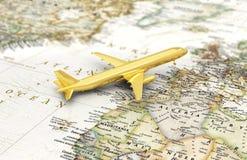 Сoncept of flight, journey. Stock Photography