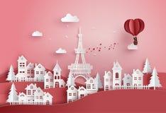 Oncept van valentijnskaart` s dag en huwelijk royalty-vrije illustratie