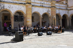 Сoncert of symphonic music, Portugal Stock Images