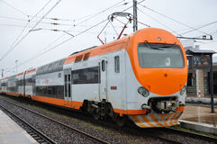 ONCF Train in Casablanca, Morocco Stock Photography