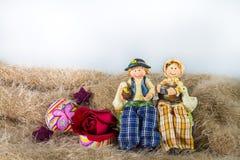 Oncle et tante de couples Photographie stock libre de droits