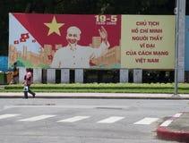 Oncle Ho Banner Image libre de droits
