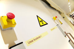 Oncology laboratory entrance Stock Photography