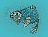 ond fisk Royaltyfria Bilder