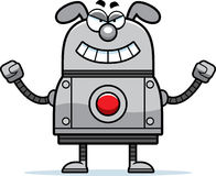 Ond robothund Arkivbilder