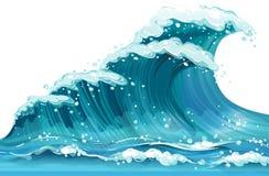 onda illustrazione vettoriale