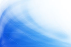 A onda abstrata azul alinha o fundo. Fotos de Stock Royalty Free