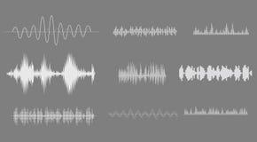 Onda acústica Imagen de archivo