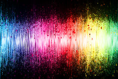 Onda acústica del espectro Fotografía de archivo