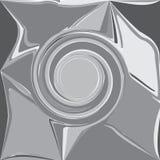 Onda astratta grigia, gorgo impresso dell'ombra, backgr dell'elemento di progettazione illustrazione vettoriale