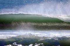 Onda atlantica Fotografia Stock Libera da Diritti