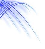 Onda azul Ilustración del Vector