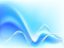 Onda azul abstracta Foto de archivo libre de regalías