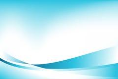Onda azul da energia ilustração royalty free