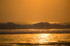 Onda Bali Fotografia de Stock
