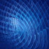 Onda blu dei raggi Immagini Stock Libere da Diritti
