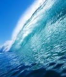 Onda blu del Aqua immagini stock
