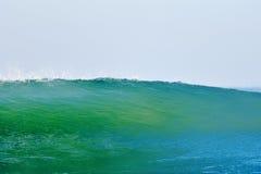 Onda blu-verde Immagini Stock Libere da Diritti
