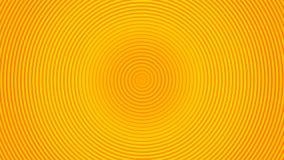 Onda circolare di rotazione gialla Fotografie Stock