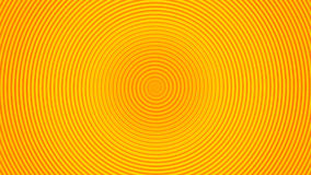 Onda circular del giro amarillo Fotos de archivo